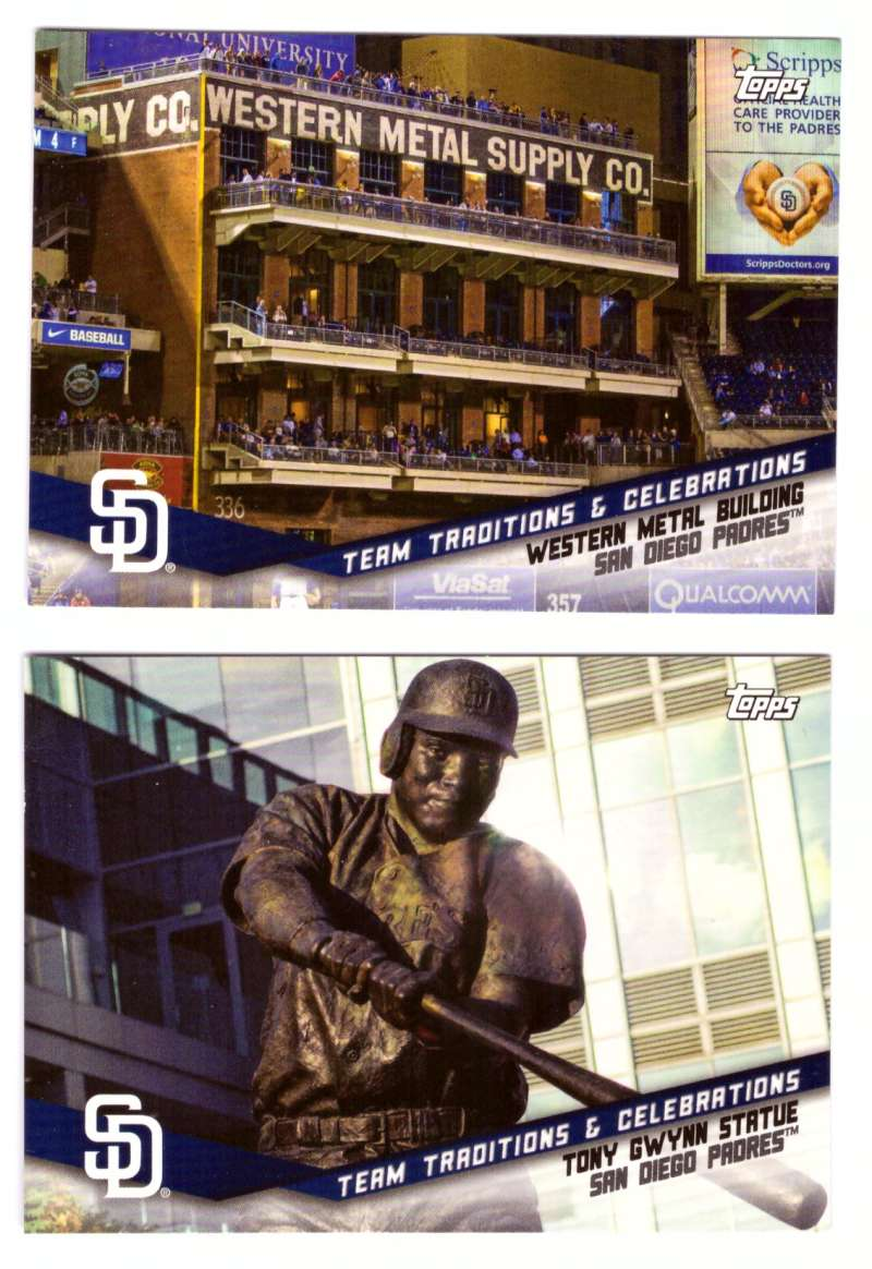 2019 Topps Opening Day Team Traditions and Celebrations - SAN DIEGO PADRES
