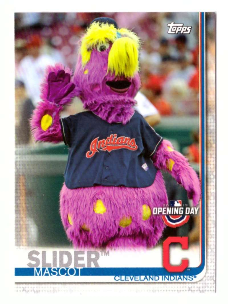 2019 Topps Opening Day Mascots - CLEVELAND INDIANS