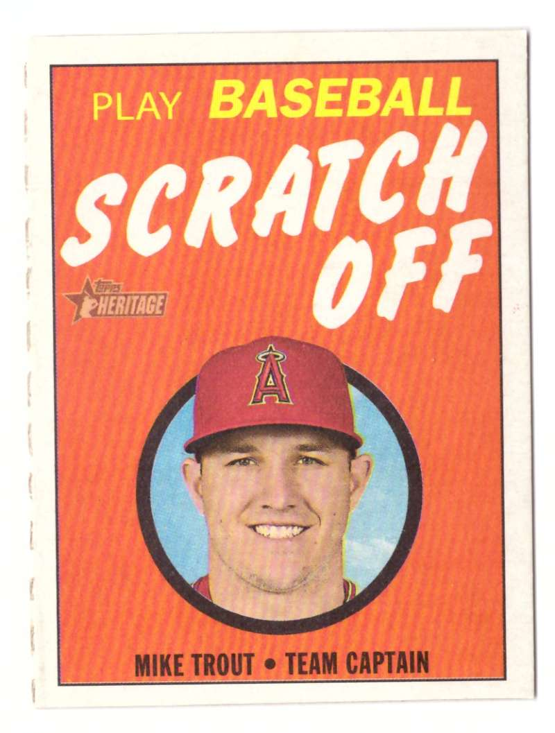 2019 Topps Heritage Scratch Offs - LOS ANGELES ANGELS