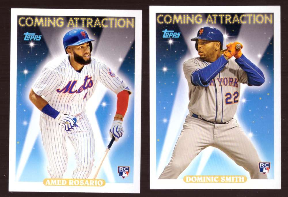 2018 Topps Archives Coming Attraction - NEW YORK METS