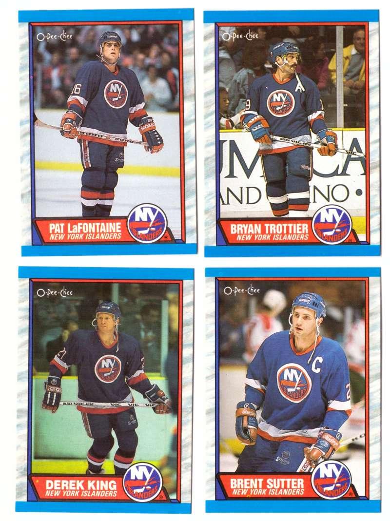 1989-90 O-Pee-Chee Hockey Team Set - New York Islanders