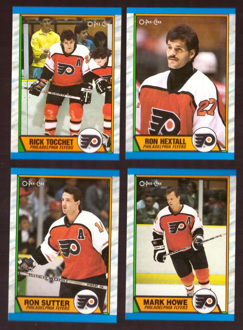 1989-90 O-Pee-Chee Hockey Team Set - Philadelphia Flyers