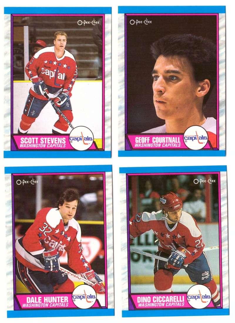 1989-90 O-Pee-Chee Hockey Team Set - Washington Capitals