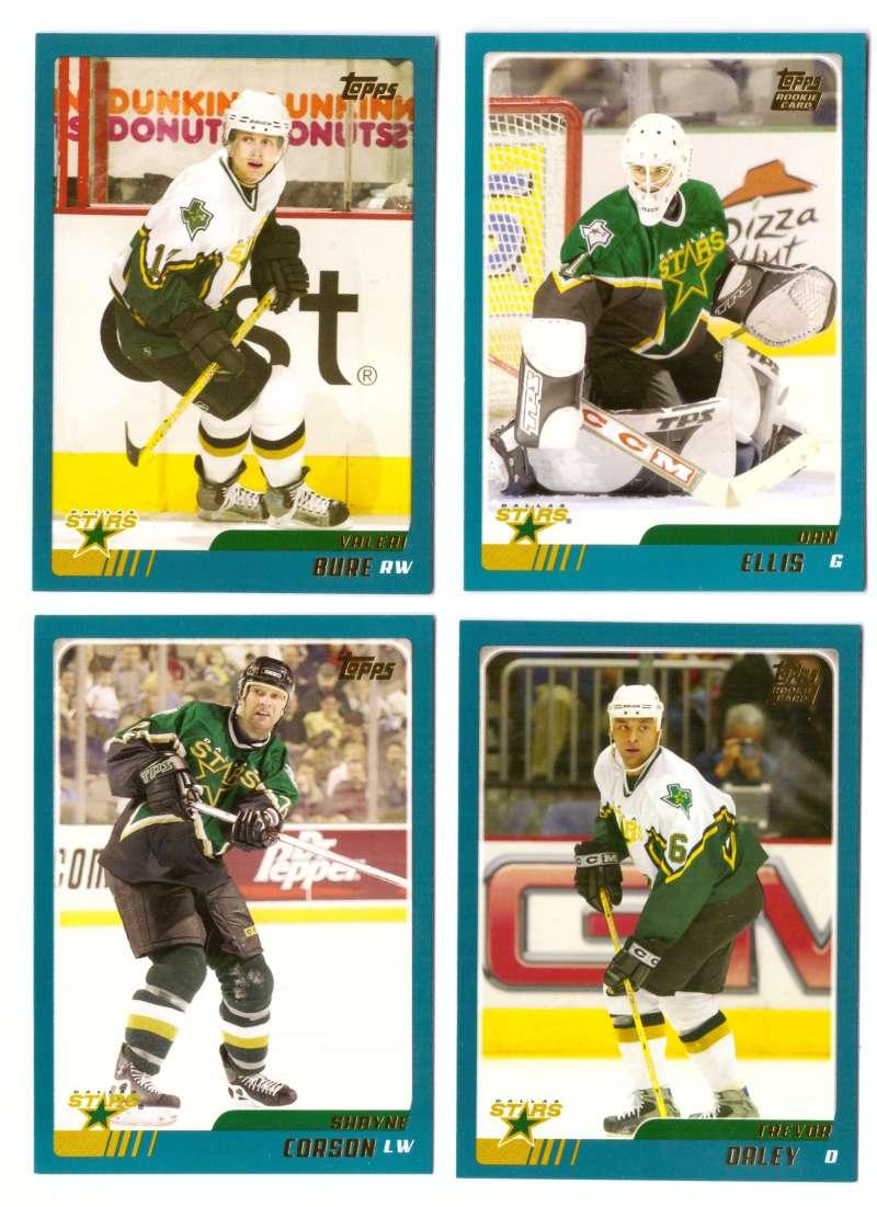 2003-04 Topps Traded Hockey Team Set - Dallas Stars