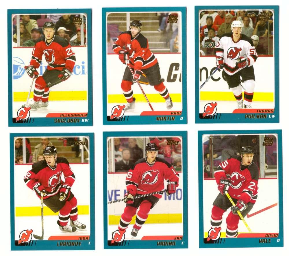 2003-04 Topps Traded Hockey Team Set - New Jersey Devils