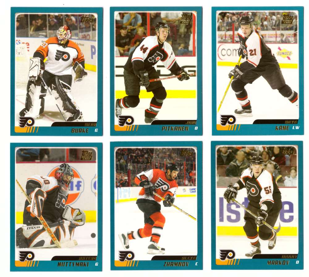 2003-04 Topps Traded Hockey Team Set - Philadelphia Flyers