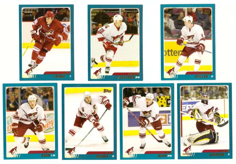 2003-04 Topps Traded Hockey Team Set - Phoenix Coyotes