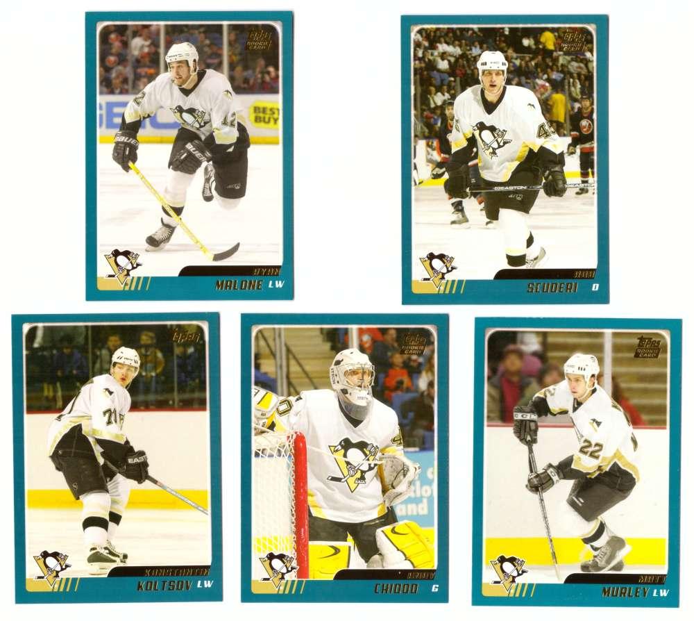2003-04 Topps Traded Hockey Team Set - Pittsburgh Penguins