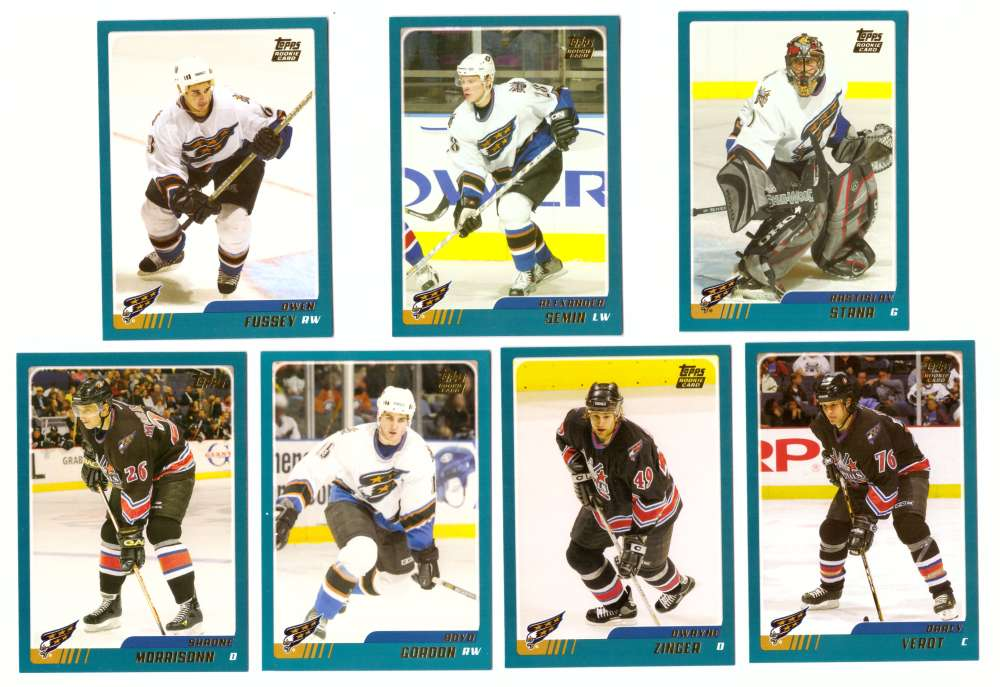 2003-04 Topps Traded Hockey Team Set - Washington Capitals