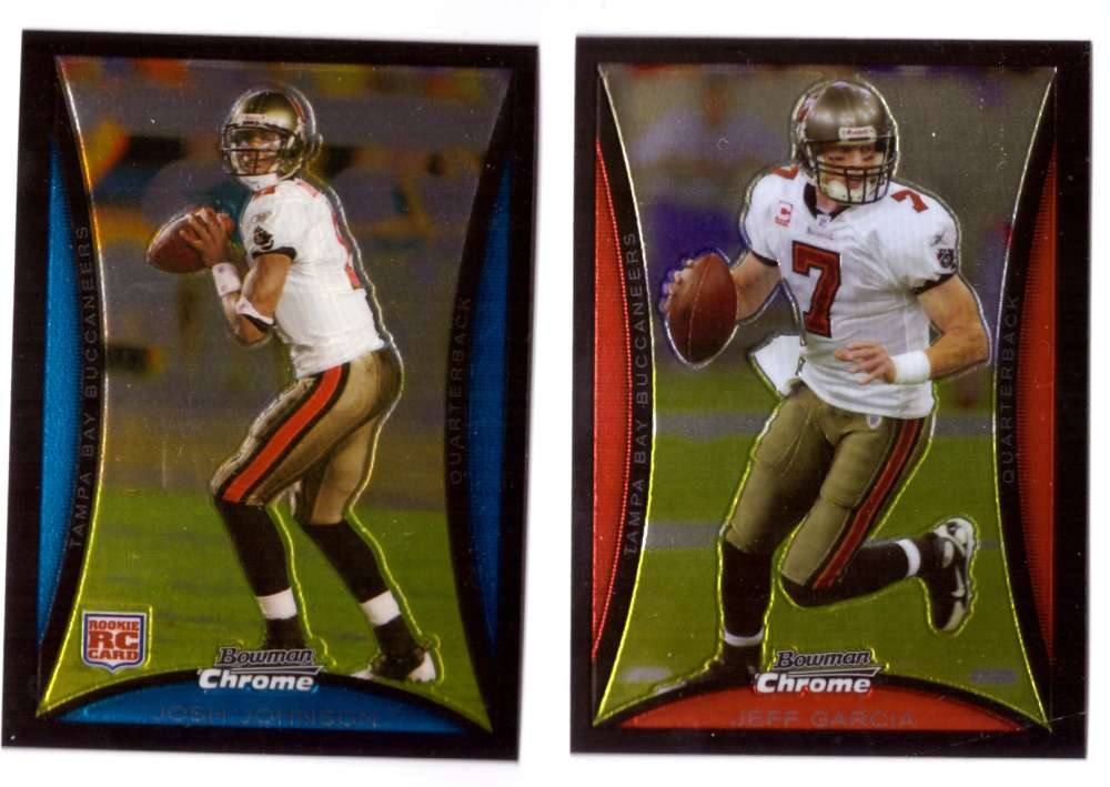 2008 Bowman Chrome Football Team Set - TAMPA BAY BUCCANEERS