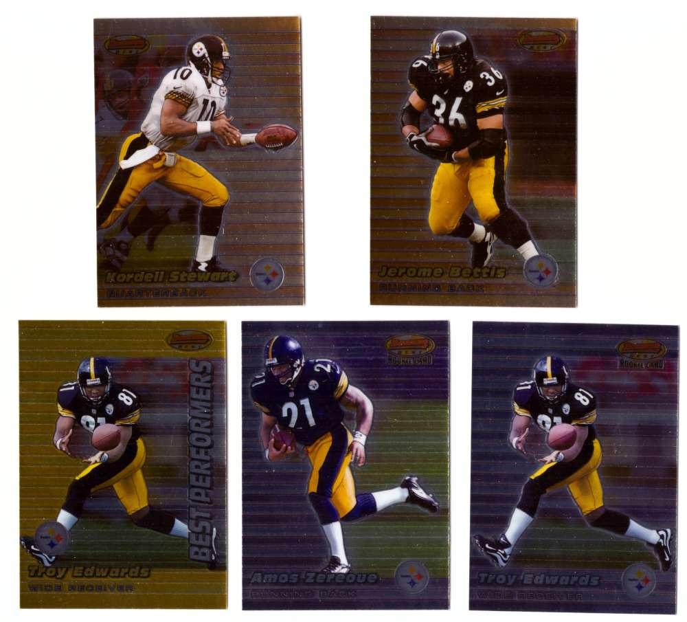 1999 Bowman's Best Football - PITTSBURGH STEELERS