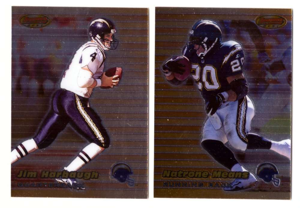 1999 Bowman's Best Football - SAN DIEGO CHARGERS