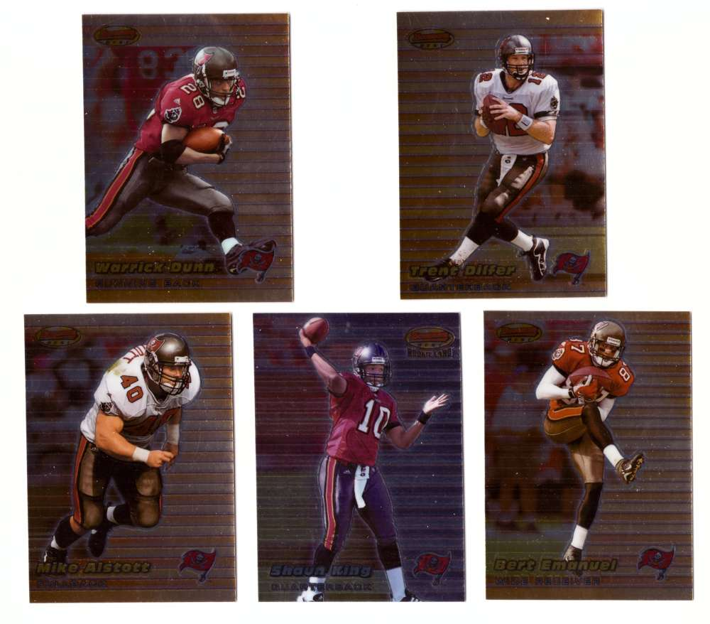 1999 Bowman's Best Football - TAMPA BAY BUCCANEERS