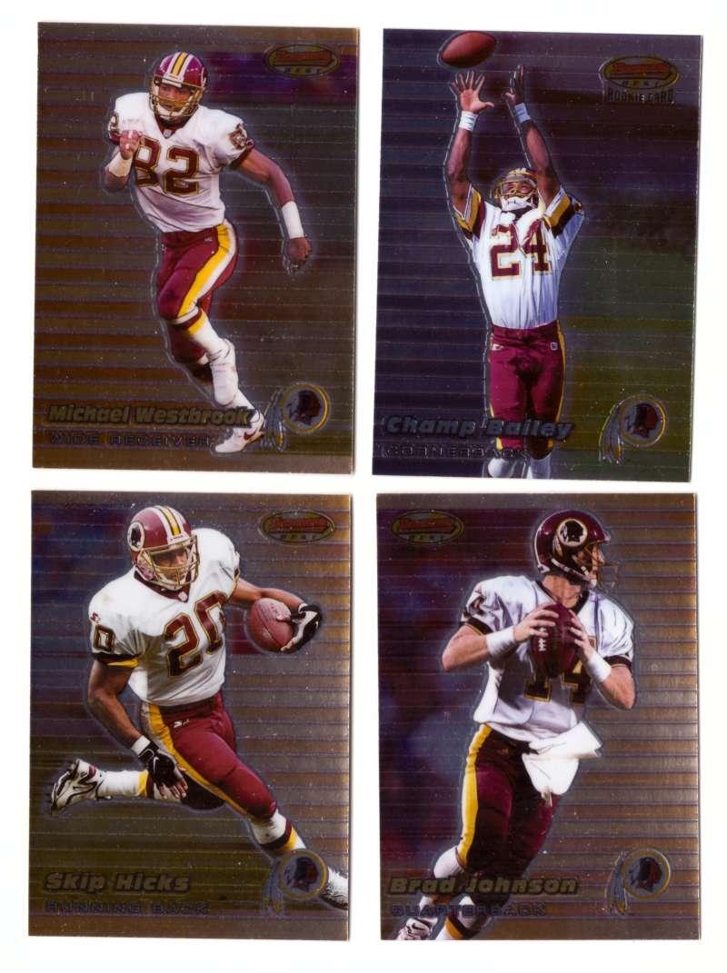 1999 Bowman's Best Football - WASHINGTON REDSKINS