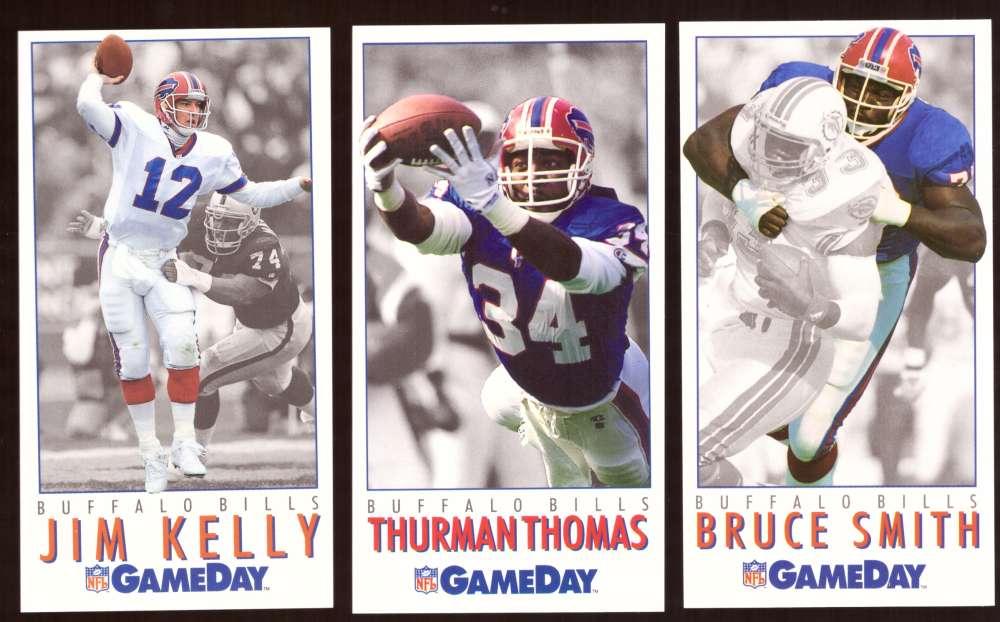1992 GameDay Football Team Set - BUFFALO BILLS