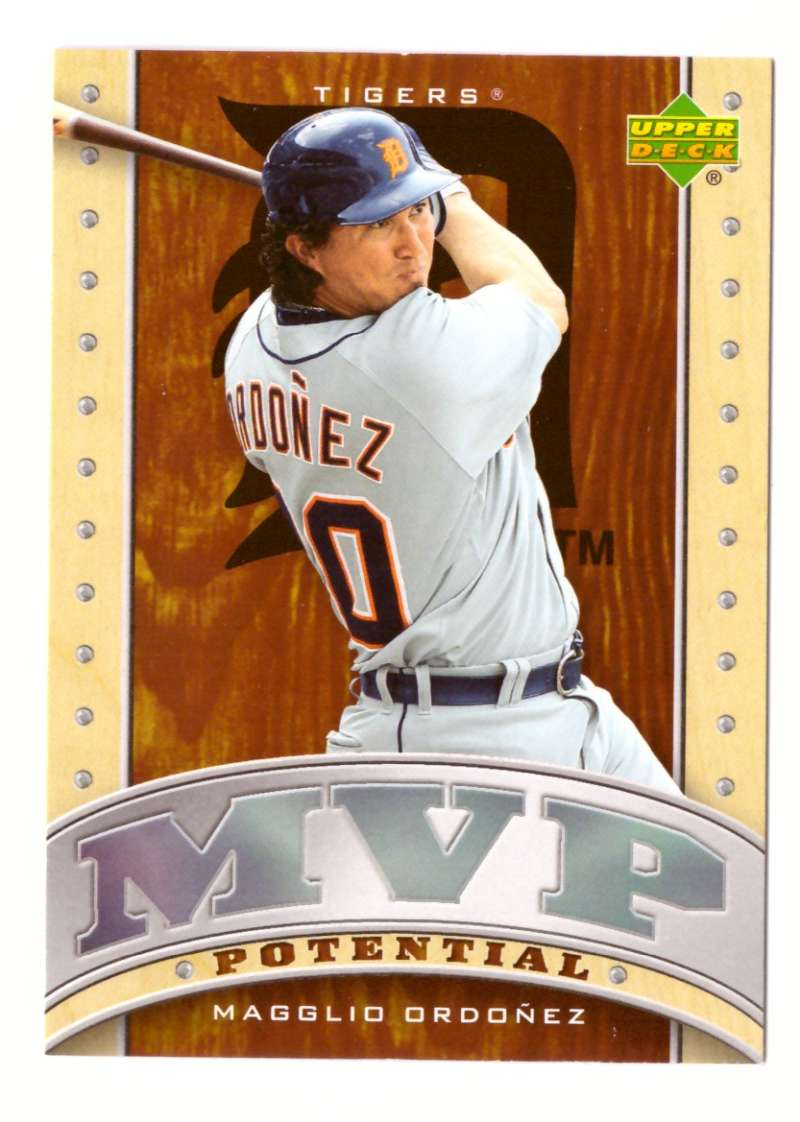 2007 Upper Deck MVP Potential - DETROIT TIGERS