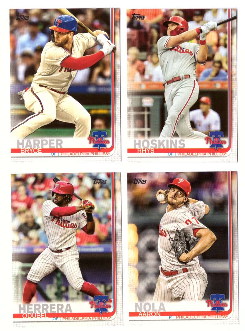 2019 Topps - PHILADELPHIA PHILLIES Team Set