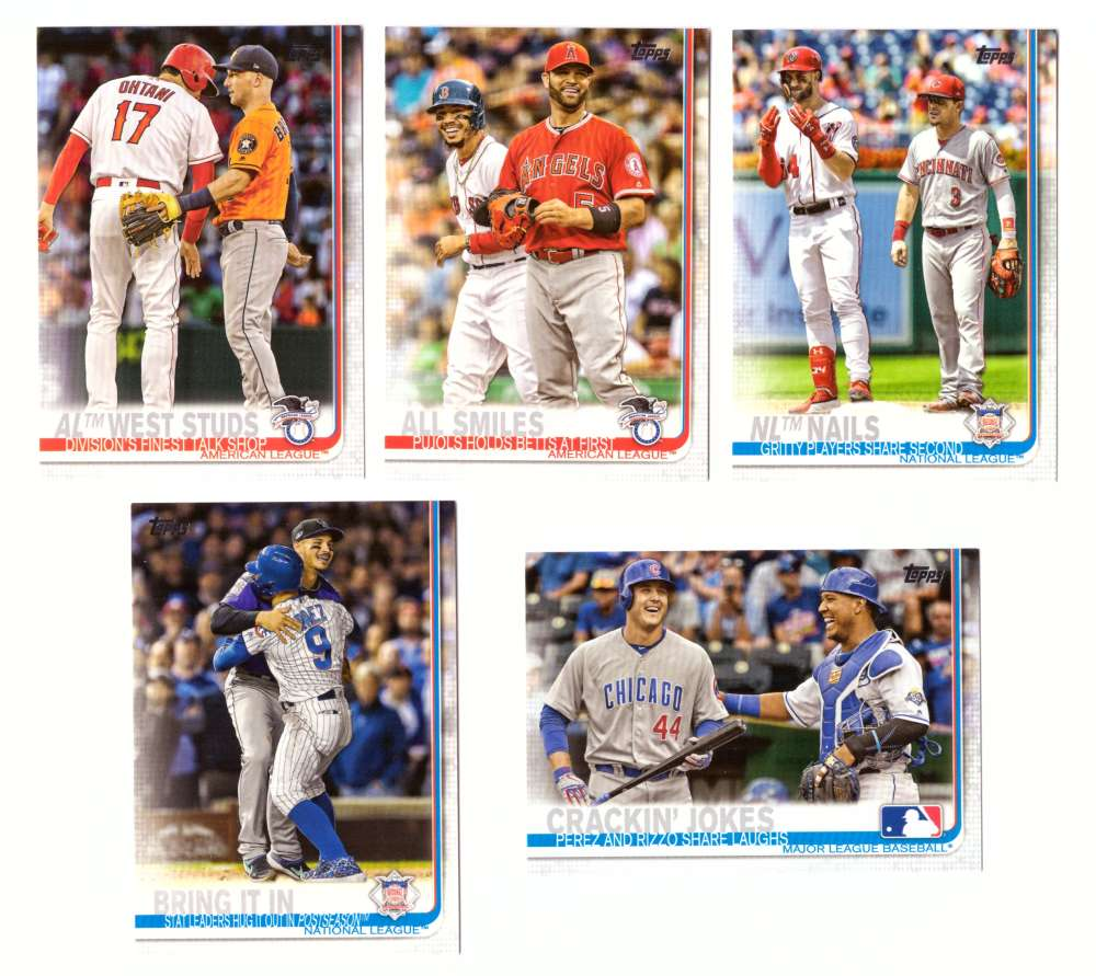 2019 Topps - Combo Cards 5 card lot