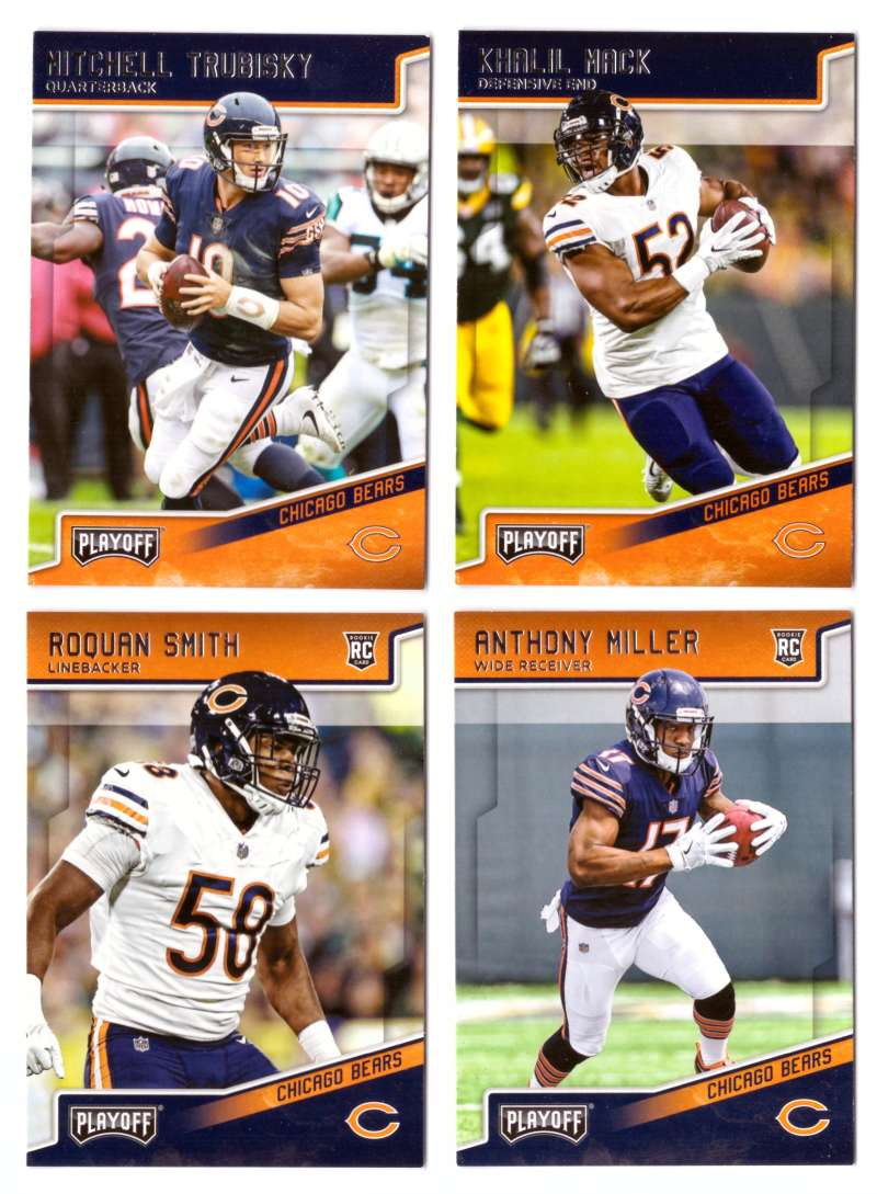 2018 Playoff Football (1-300) Team Set - CHICAGO BEARS