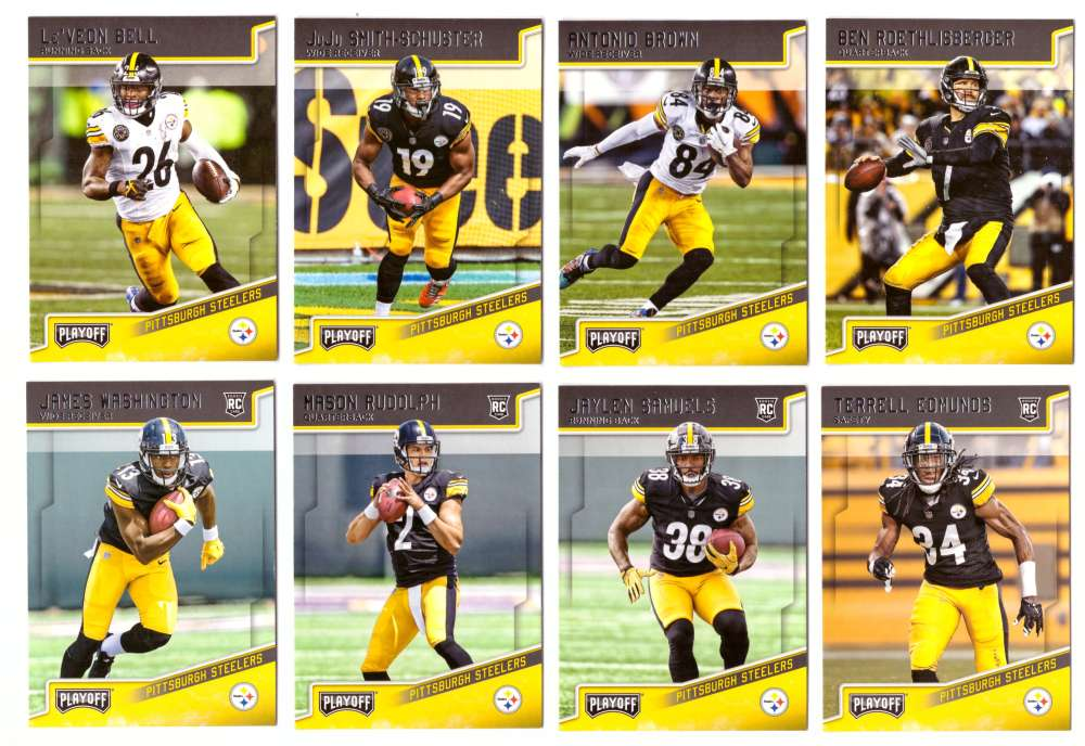 2018 Playoff Football (1-300) Team Set - PITTSBURGH STEELERS