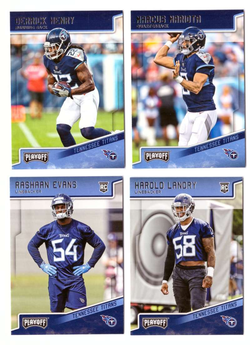 2018 Playoff Football (1-300) Team Set - TENNESSEE TITANS