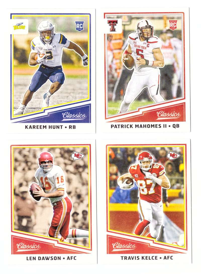 2017 Classics (Panini 1-300) Football Team Set - KANSAS CITY CHIEFS