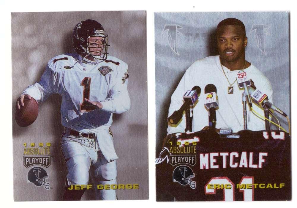 1995 Absolute (Playoff) Football Team Set - ATLANTA FALCONS