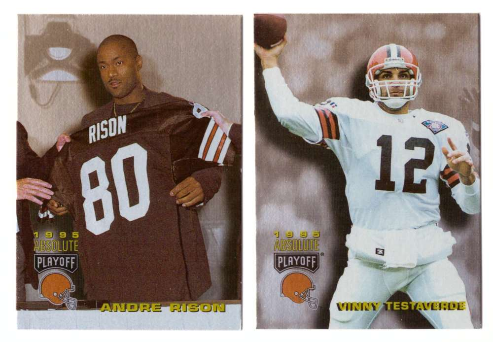 1995 Absolute (Playoff) Football Team Set - CLEVELAND BROWNS