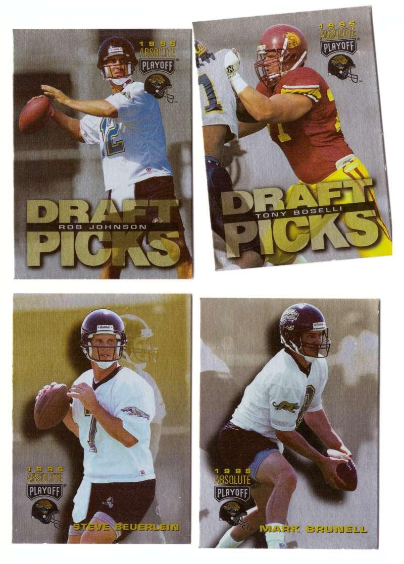1995 Absolute (Playoff) Football Team Set - JACKSONVILLE JAGUARS
