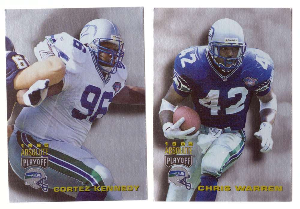 1995 Absolute (Playoff) Football Team Set - SEATTLE SEAHAWKS