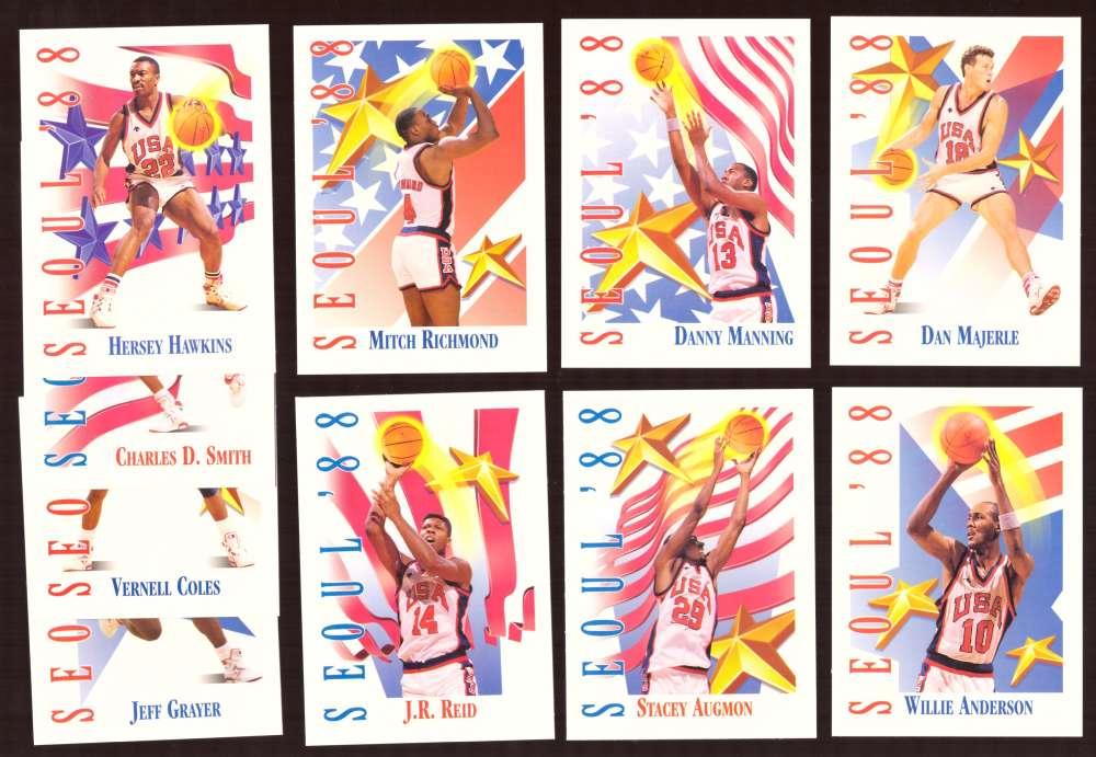 1991-92 SkyBox Basketball - Seoul '88 Team USA Set