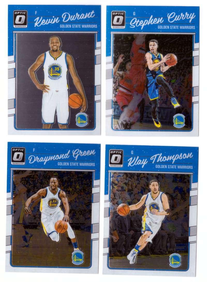 2016-17 Donruss Optic Basketball Team Set - Golden State Warriors