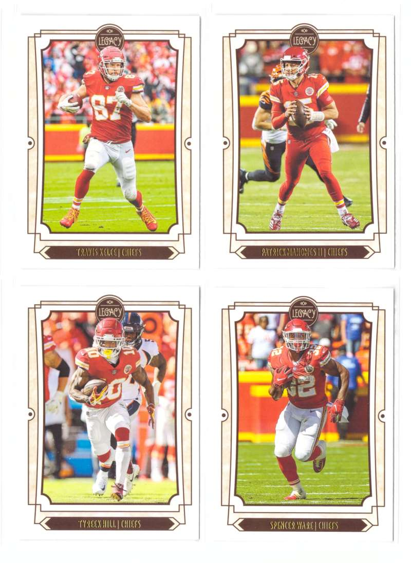 2019 Panini Legacy Football Team Set - KANSAS CITY CHIEFS