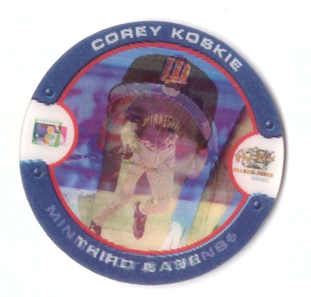 2000 Seven Eleven (7-11) Slurpee Discs - MINNESOTA TWINS