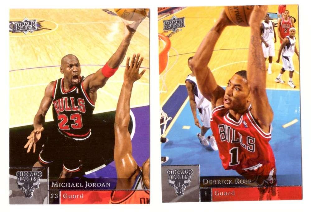 2009-10 Upper Deck (Base 1-200) Basketball Team Set - Chicago Bulls
