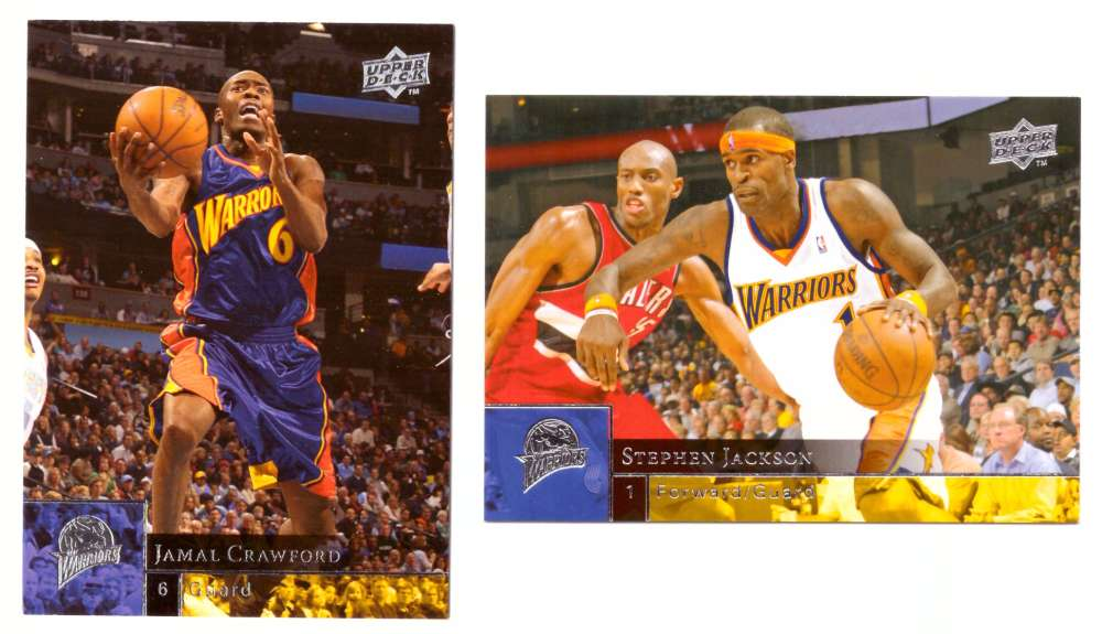 2009-10 Upper Deck (Base 1-200) Basketball Team Set - Golden State Warriors