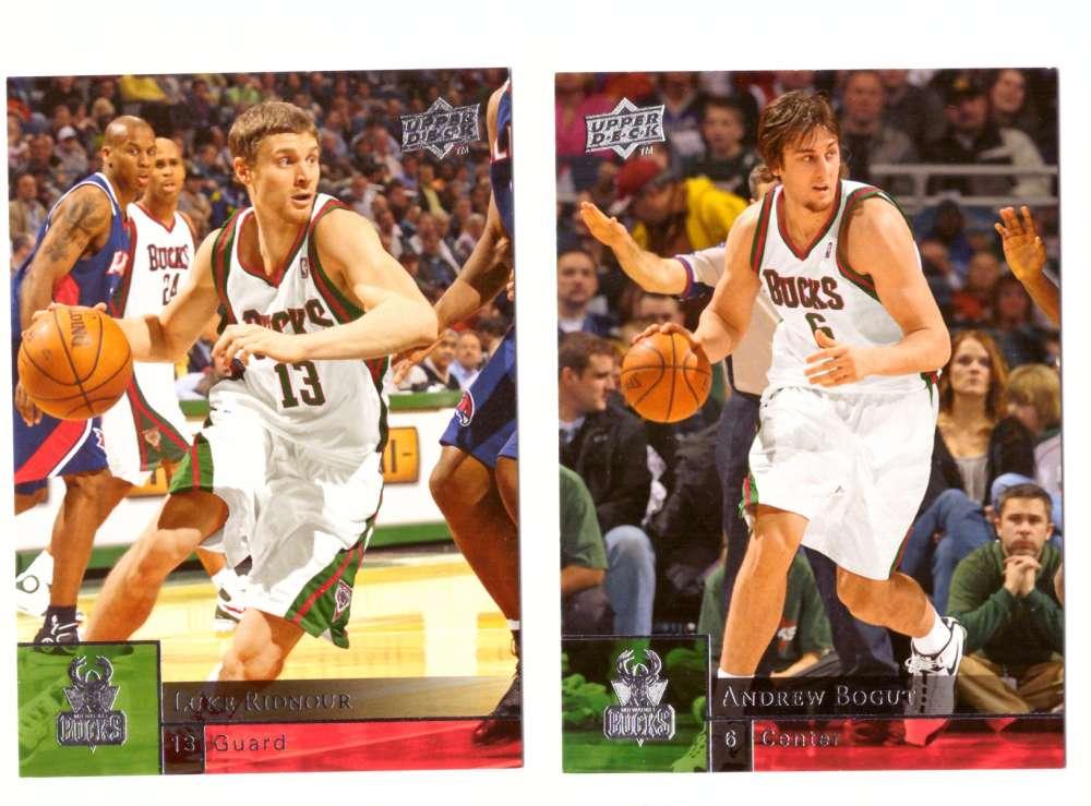 2009-10 Upper Deck (Base 1-200) Basketball Team Set - Milwaukee Bucks