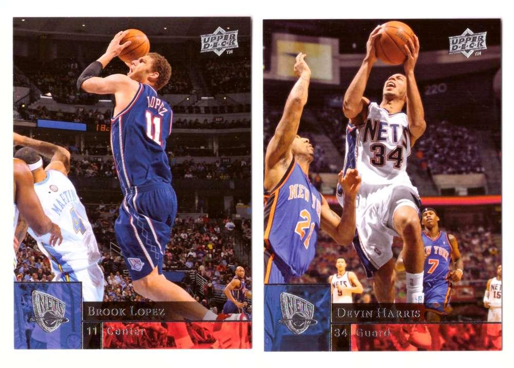 2009-10 Upper Deck (Base 1-200) Basketball Team Set - New Jersey Nets