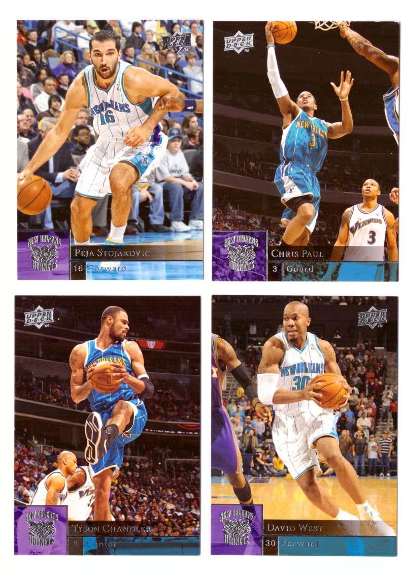 2009-10 Upper Deck (Base 1-200) Basketball Team Set - New Orleans Hornets