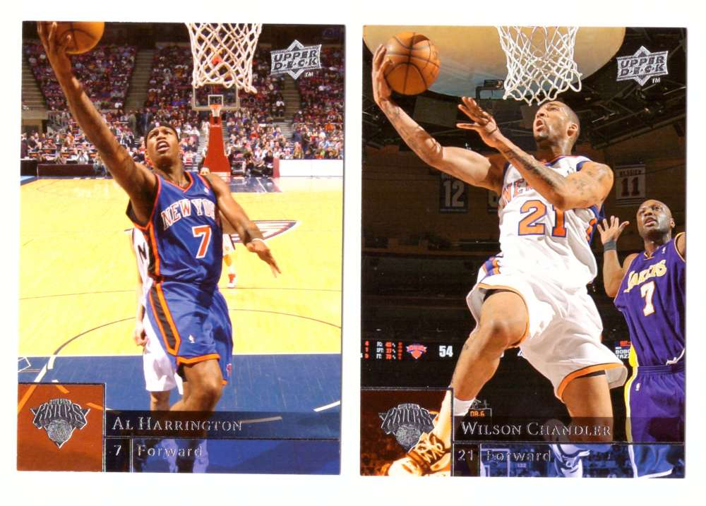 2009-10 Upper Deck (Base 1-200) Basketball Team Set - New York Knicks