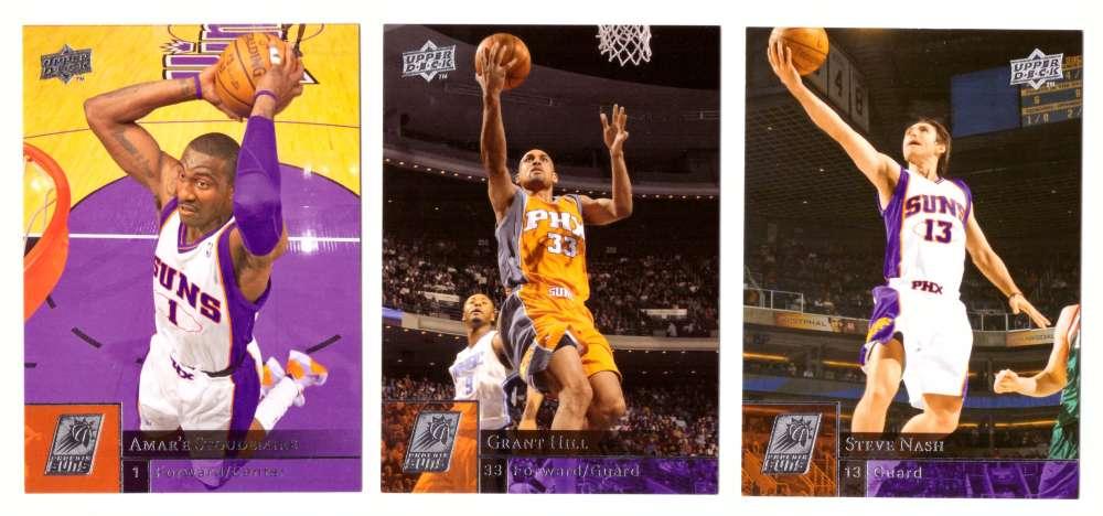 2009-10 Upper Deck (Base 1-200) Basketball Team Set - Phoenix Suns