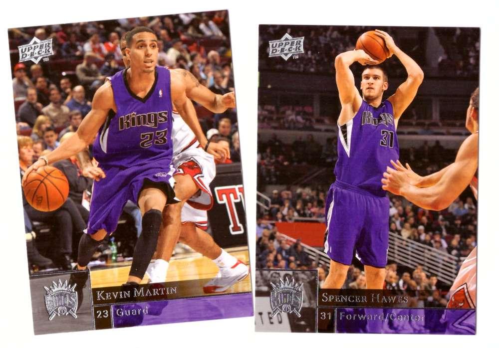2009-10 Upper Deck (Base 1-200) Basketball Team Set - Sacramento Kings
