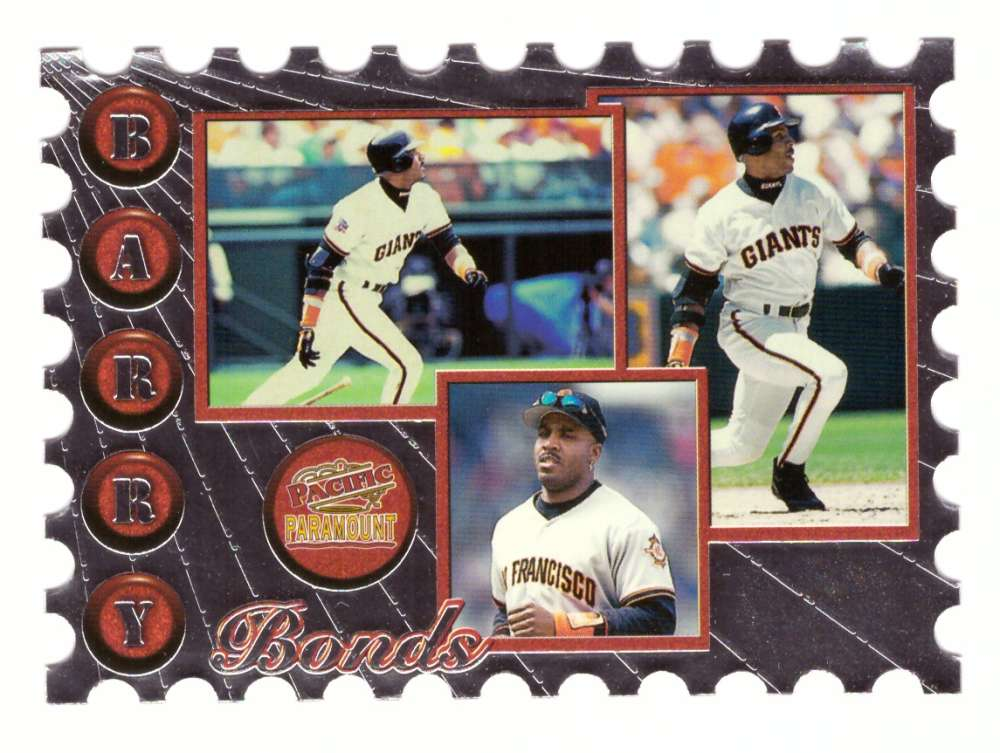 1998 Paramount Special Delivery Die Cut - SAN FRANCISCO GIANTS