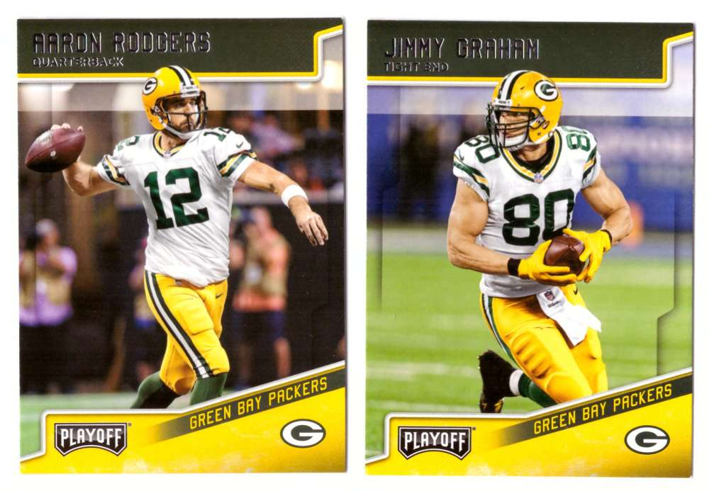 2018 Playoff Football (Base 1-200) Team Set - GREEN BAY PACKERS