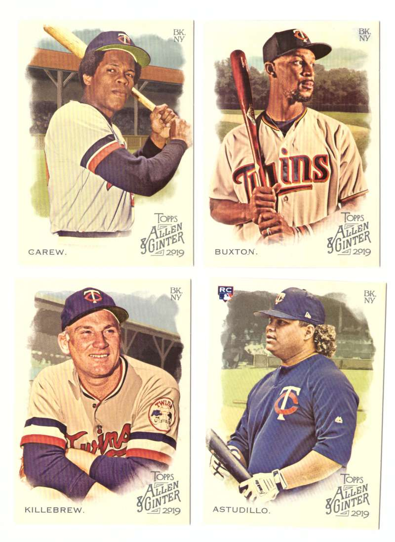 2019 Topps Allen and Ginter - MINNESOTA TWINS Team Set
