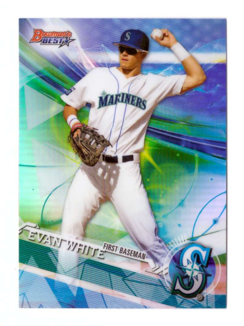 2017 Bowman's Best Top Prospects Refractors - SEATTLE MARINERS