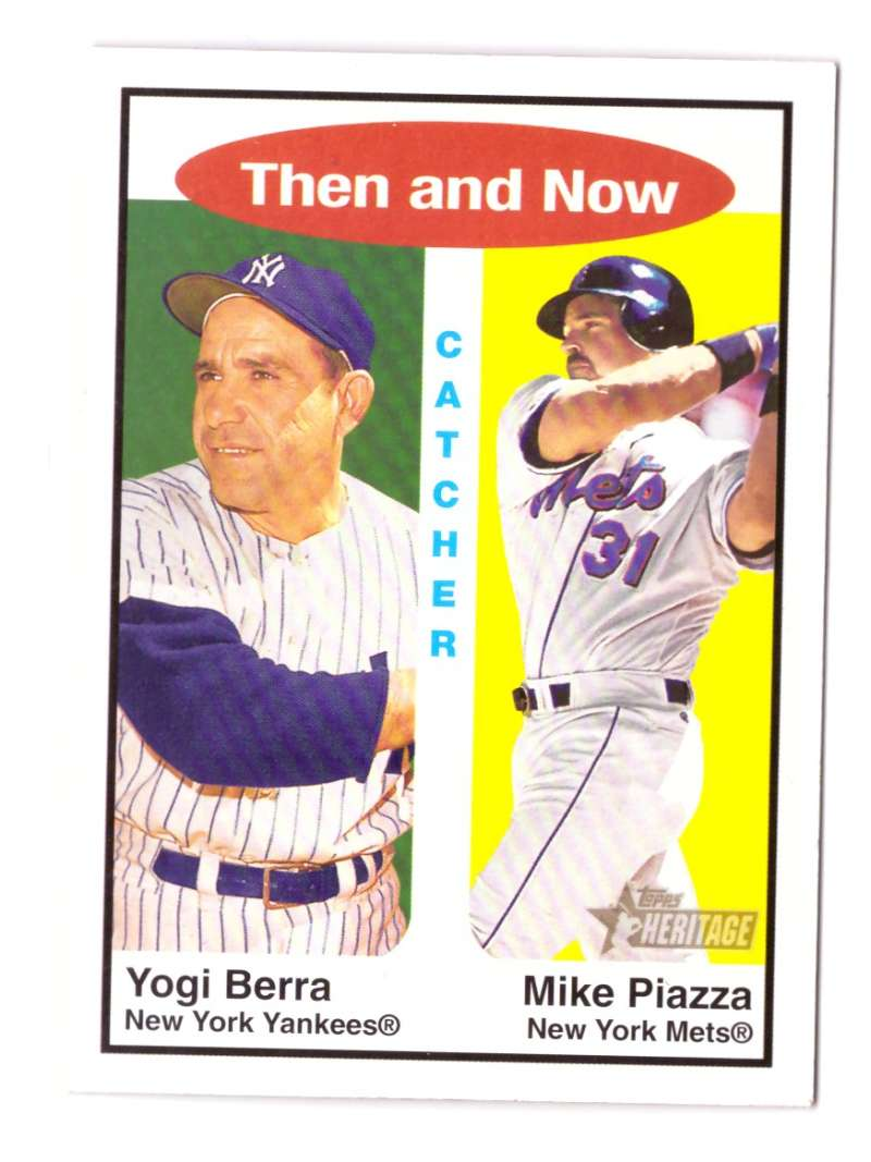 2001 Topps Heritage Then and Now - NEW YORK METS