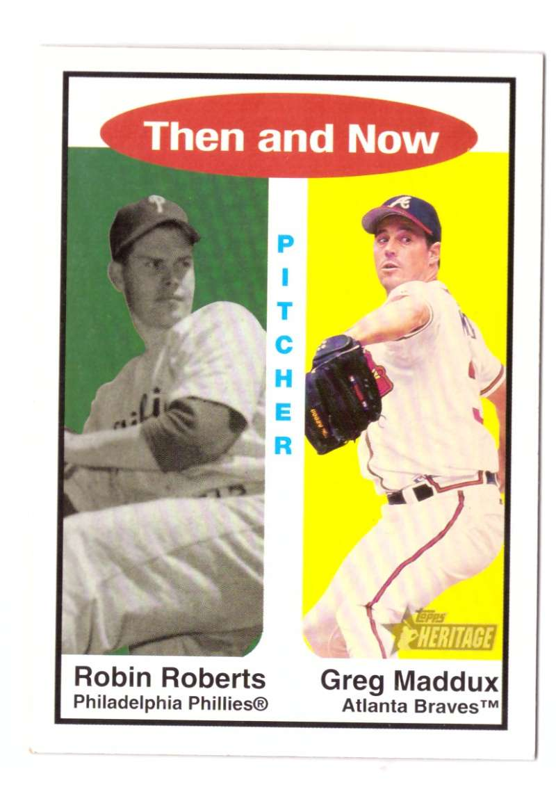2001 Topps Heritage Then and Now - PHILADELPHIA PHILLIES