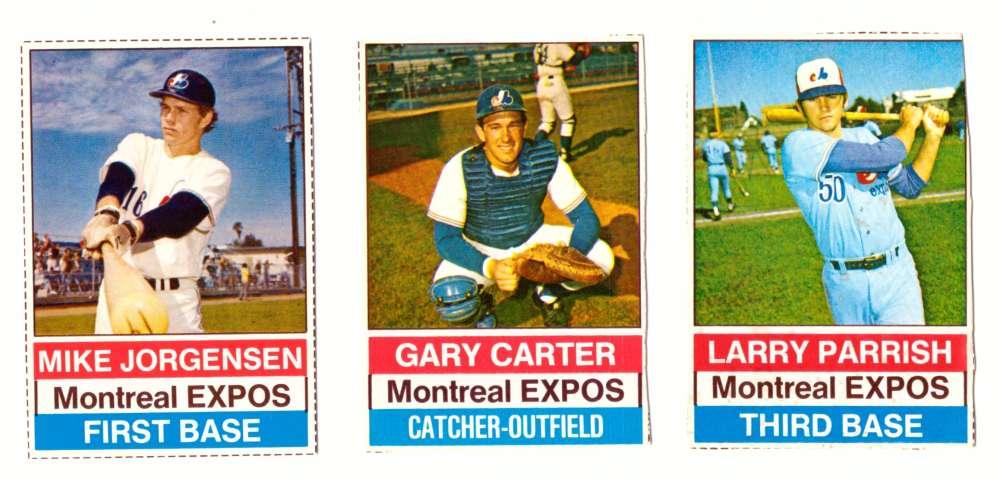 1976 Hostess (C) - MONTREAL EXPOS Team set