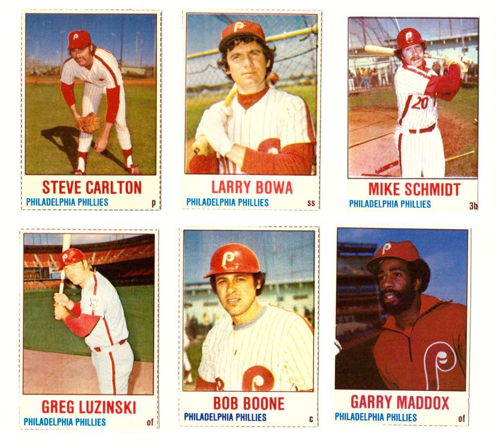 1978 Hostess (A) - PHILADELPHIA PHILLIES Team Set